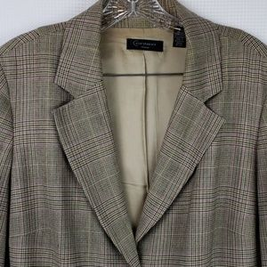 CONTEXT Jacket Blazer brown with pink